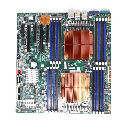 GA-7PESH2 GIGABYTE Intel Rev1.0 LGA2011 E-ATX Server Motherboard LSI2008 8x SAS/SATA, 2x 10G X540-AT2, Avocent IPMI 2.0  (GA-7PESH2)