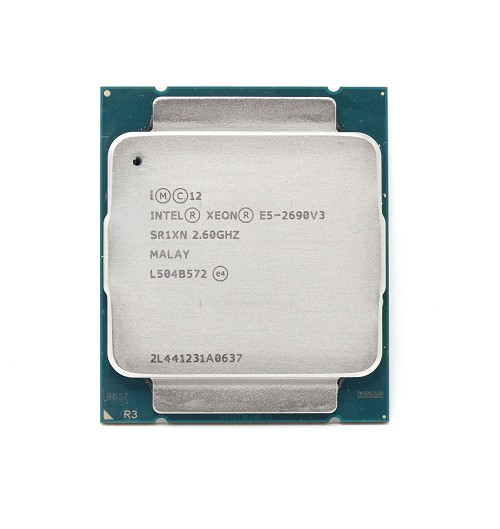 Intel Xeon E5-2690 v3 2.6GHz 12 Core 30M LGA2011-3 Processor (SR1XN)
