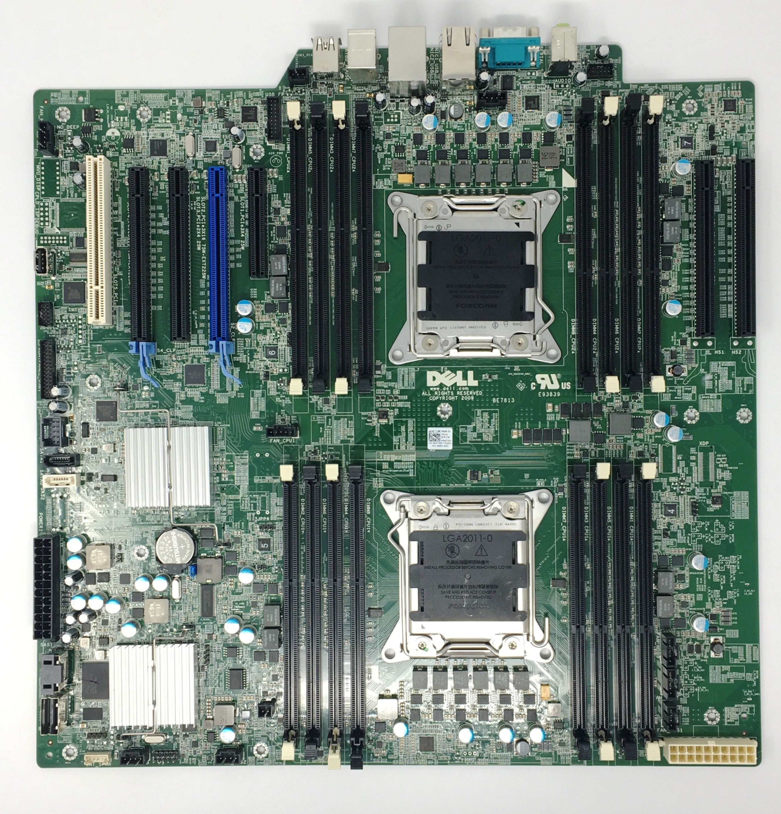 Dell Precision T7610 Workstation Dual Intel LGA2011 System Mother Board (NK70N)