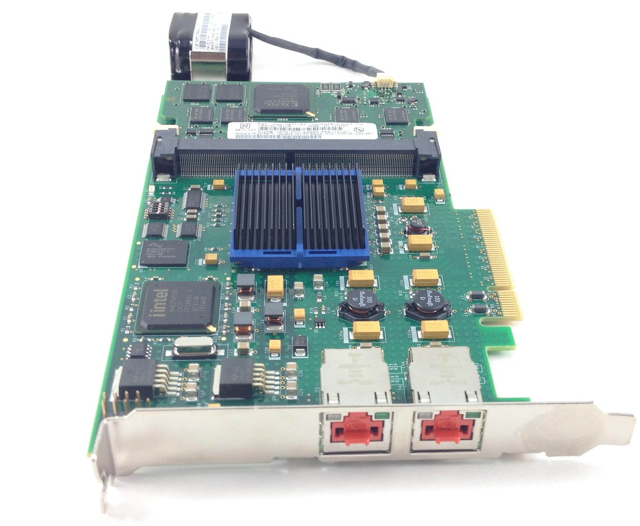Dell Compellent Sc8000 512MB Cache PCI-E Battery Backed Raid Controller  (0DV94N)