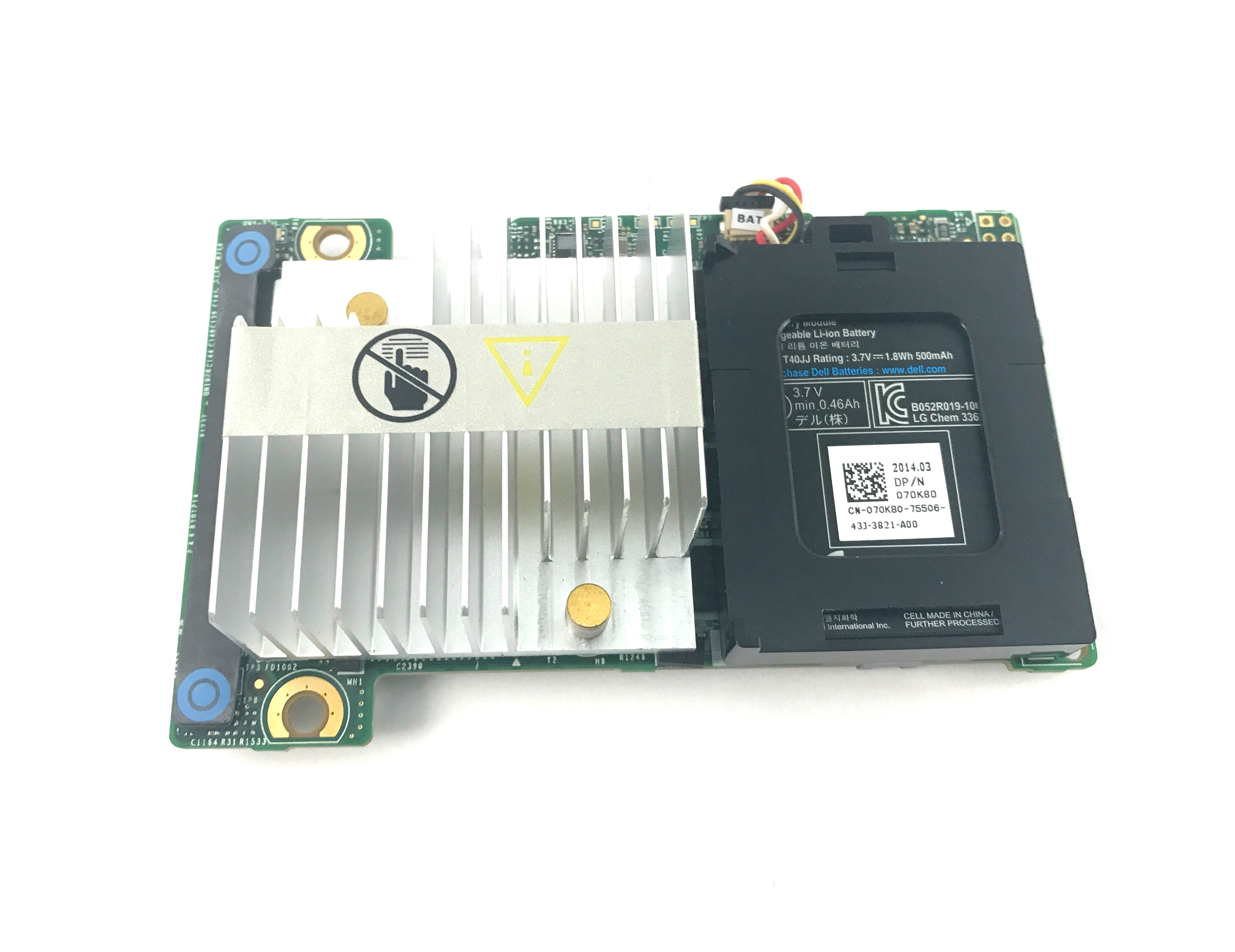Dell Perc H710P Mini Mono 6Gbps 1GB Raid Controller (70K80 BATTERY)