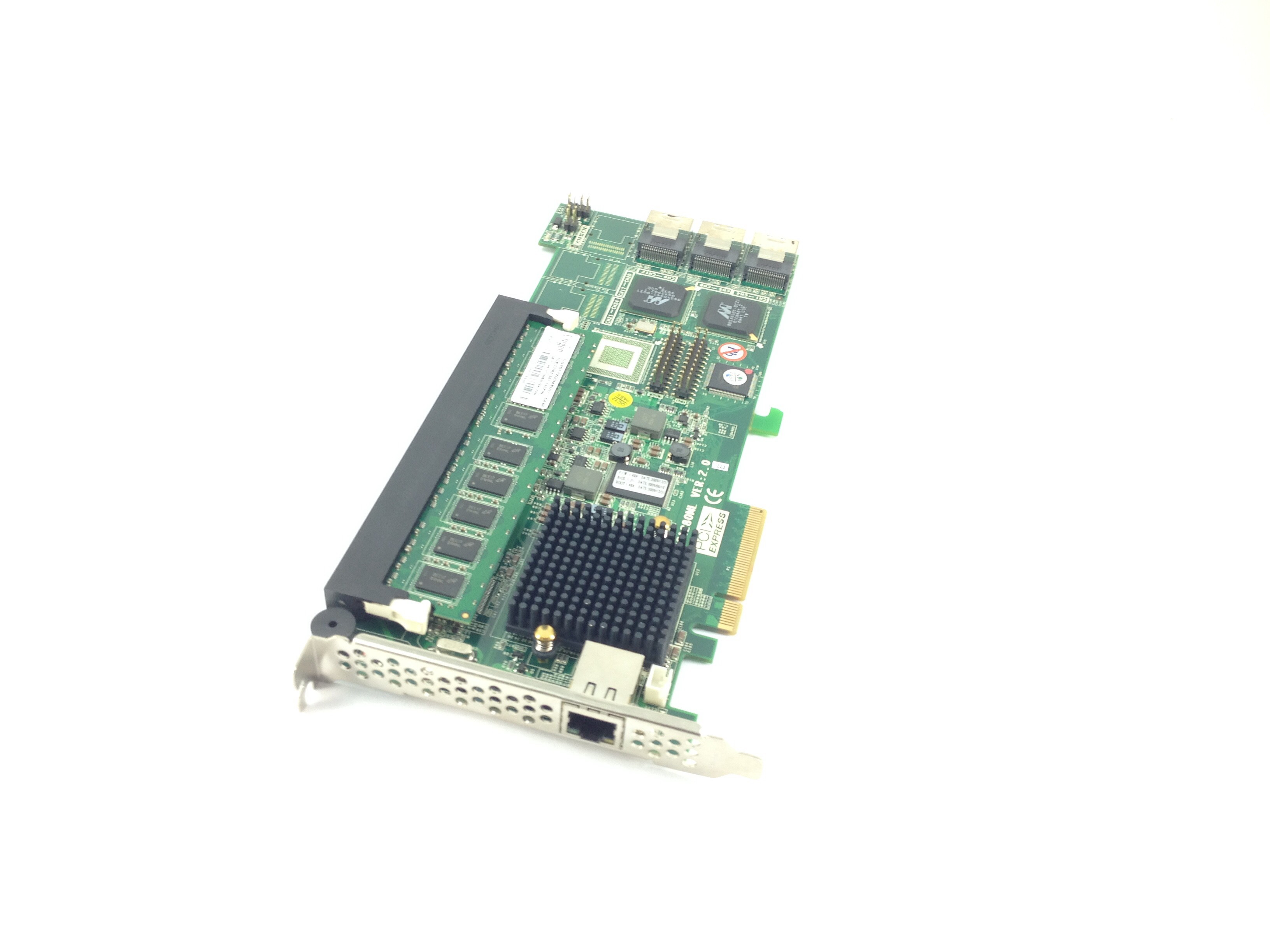 Areca Arc1280ML VER 2.0 Pci Express 12-Port SATA Online Raid Controller (ARC1280ML)