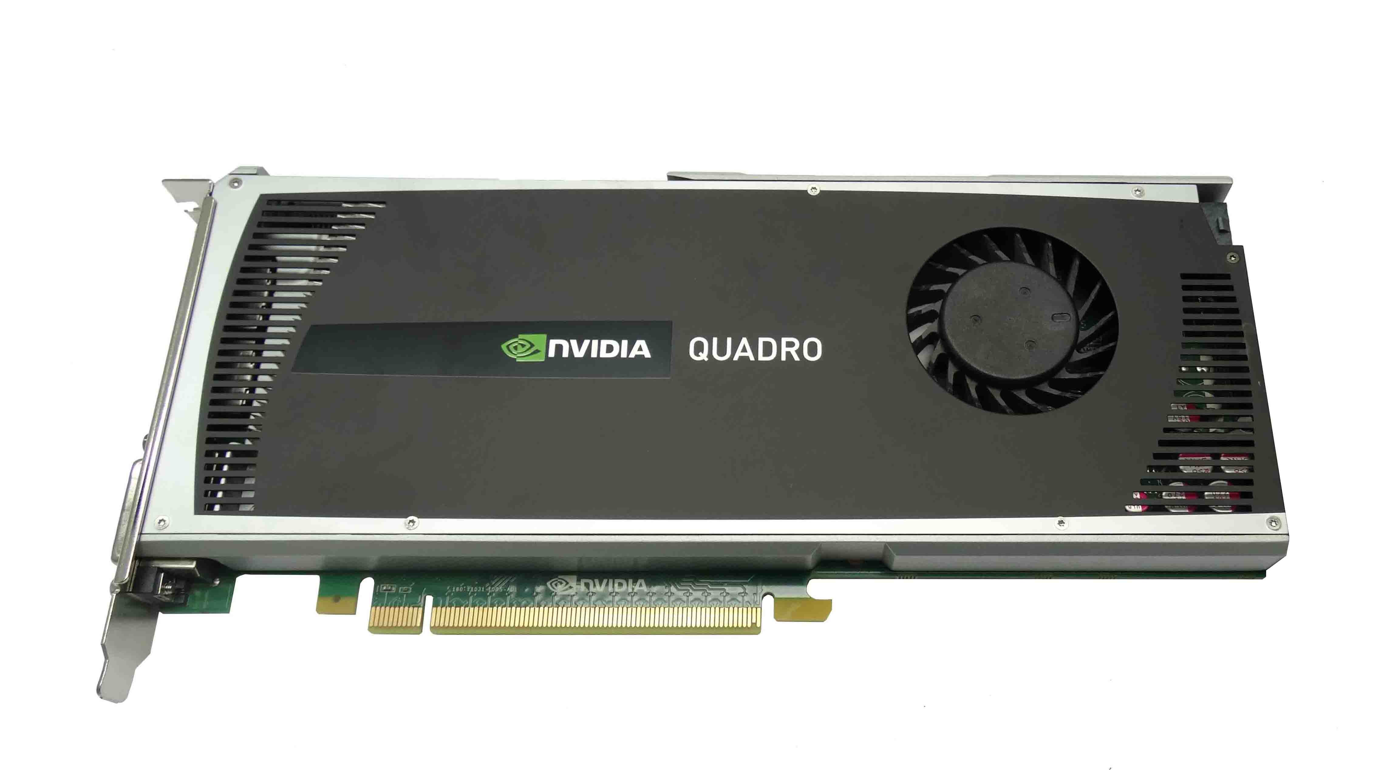 DELL NVIDIA QUADRO 4000 PCI EXPRESS 2 0 X16 GDDR5 DVI-I VIDEO CARD (0731Y3)
