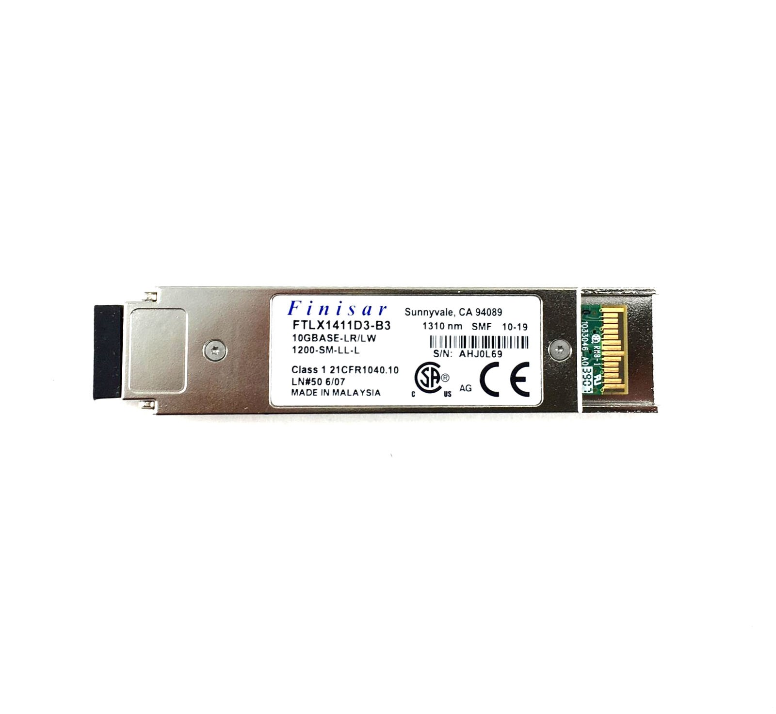 Finisar 10Gbps 10Km Datacom XFP Optical Transceiver (FTLX1411D3-B3)