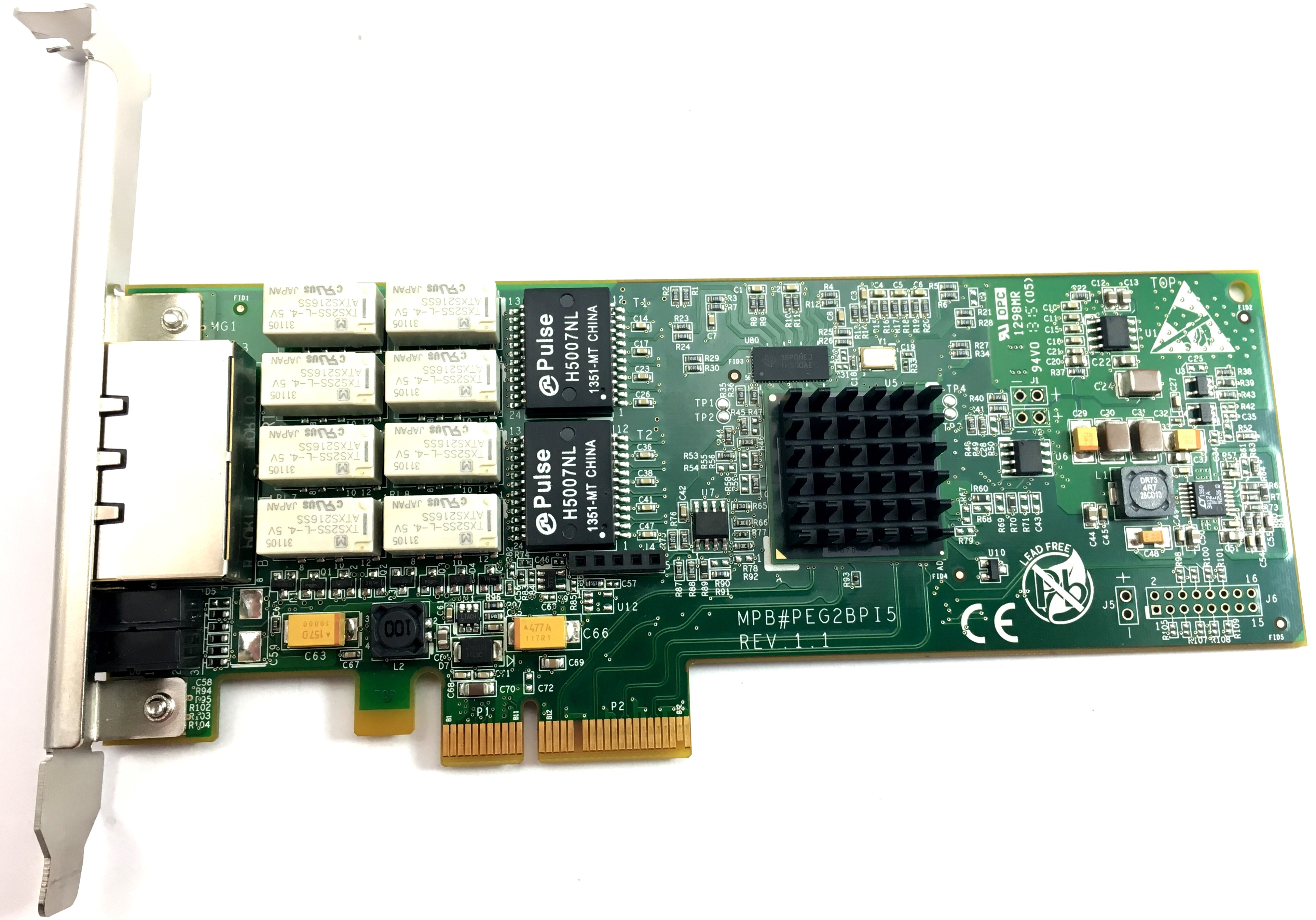 Silicom  Dual Port Copper Gigabit Ethernet Pci Express Bypass Adapter (PEG2BPI6)