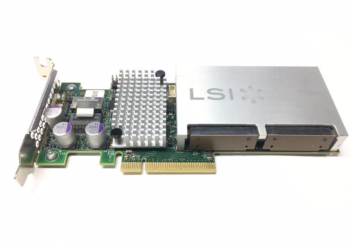 LSI Nytro Megaraid NMR-8110-4i 200GB NAND SSD cache Raid Controller  (L3-25465-08E)