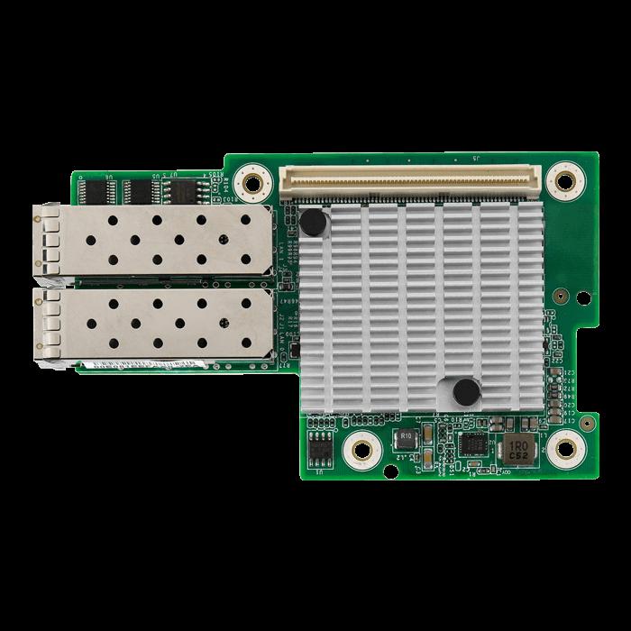 Intel 82599ES 10GbE SFP+ Dual Port Open Compute OCP Mezzanine NIC  (M7062-I599-2T)